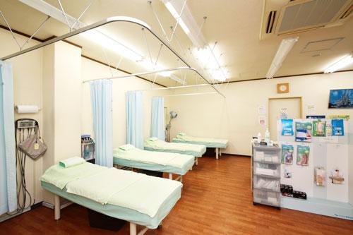 整骨院の施術室の写真